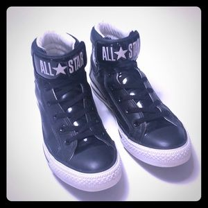 Unisex Converse All Star leather and rubber